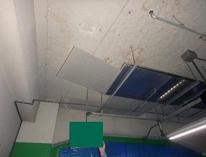 建物地下駐車場(施工前)