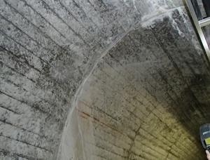 ダム監査廊(施工後)