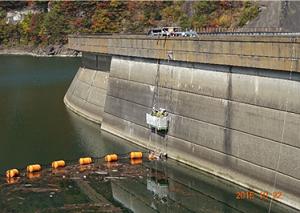 水力発電所 ダム堤体部