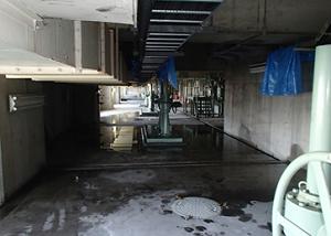 下水処理場 天井部